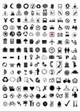 Vector icon set. Illustration on white background Royalty Free Stock Images