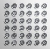 Vector icon. Set of elements. This is file of EPS10 format Royalty Free Stock Image