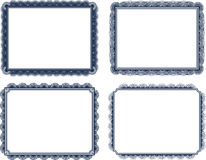 Vector icon set of frames Royalty Free Stock Photo