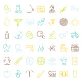 Vector icon set Stock Images