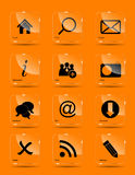 Vector icon set for web. This is file of EPS10 format Stock Photography