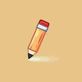Vector icon in style linework pencil on light background. Illustration style linework pencil Royalty Free Stock Photos