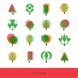 Vector Icon Tree Stock Photography
