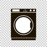 Vector icon of a washing machine. Stock Photo