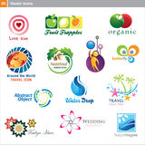 Vector icons – different designs Royalty Free Stock Image
