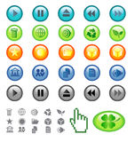 Vector icons. Stock Photos
