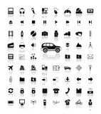 Vector icons Royalty Free Stock Images