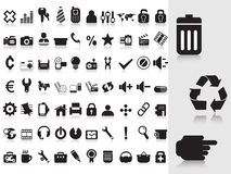 Vector icons Stock Images