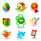 Vector icons Royalty Free Stock Image