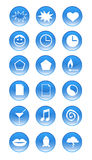Vector - Icons. Vector Elements of web icons royalty free illustration