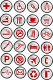Vector icons Stock Photo
