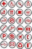Vector icons Stock Photo