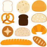 Vector Icons : Bread Royalty Free Stock Image