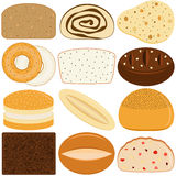 Vector Icons : Bread Stock Photography