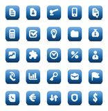 Vector icons for business Stock Photography
