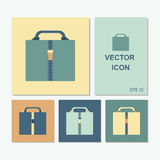 Vector icons of the case in different color combinations Royalty Free Stock Photography