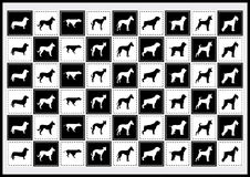 Vector Icons Dog Royalty Free Stock Photos