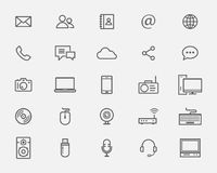 Web icons collections Royalty Free Stock Image