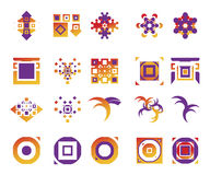 Vector icons - elements 11. Useful vector shape icons - illustrations Royalty Free Stock Image