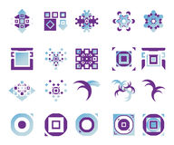 Vector icons - elements 14. Useful vector shape icons - illustrations Stock Photo