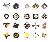 Vector icons - elements 2. Useful vector shape icons - illustrations Stock Photo