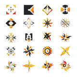 Vector icons - elements 21. Useful vector shape icons - illustrations Stock Photo