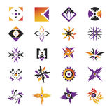 Vector icons - elements 23. Useful vector shape icons - illustrations Royalty Free Stock Photography