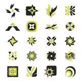 Vector icons - elements 26. Useful vector shape icons - illustrations Stock Photography