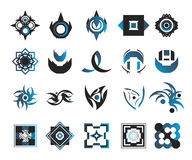 Vector icons - elements 3. Useful vector shape icons - illustrations Stock Photos