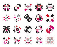 Vector icons - elements 5 Royalty Free Stock Images