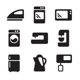 Vector icons equipment. Simple vector icons about equipment Stock Photos