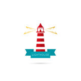 Vector icons lighthouse Royalty Free Stock Photo
