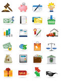 Vector icons series. Royalty Free Stock Image