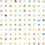Vector icons set Royalty Free Stock Image