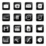Vector icons set. Web and media vector icon (Set 5 Royalty Free Stock Photography