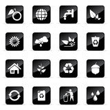 Vector icons set. Web and media vector icon (Set 10 Royalty Free Stock Photos