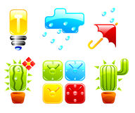 Vector icons. Set 2. Stock Image