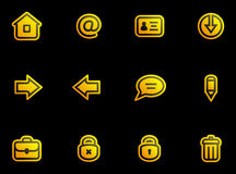 Vector Icons Set Stock Images