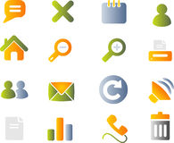 Vector icons set. Royalty Free Stock Images