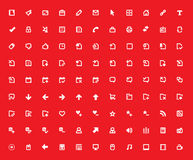 Vector icons set. Stock Photography