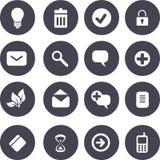 Vector icons set Stock Photos