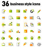 Vector icons set Royalty Free Stock Photos