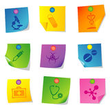 Vector icons Set fifteen Royalty Free Stock Image