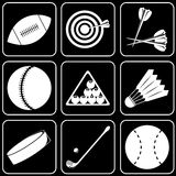 Vector icons - Sport Royalty Free Stock Photography