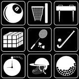 Vector icons - Sport Royalty Free Stock Photos