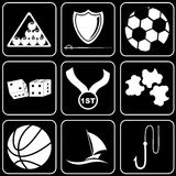 Vector icons - Sport Stock Photography