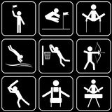 Vector icons - Sport royalty free illustration
