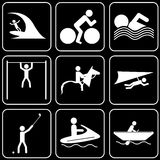 Vector icons - Sport Royalty Free Stock Image