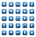 Vector icons for travel and leisure Stock Images