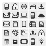 25 vector icons Stock Photos